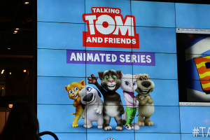 Projection of First Talking Tom Episode